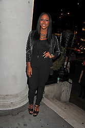 Singer ALEXANDRA BURKE at the Quintessentially Awards at Number One Marylebone, London on 28th September 2011.