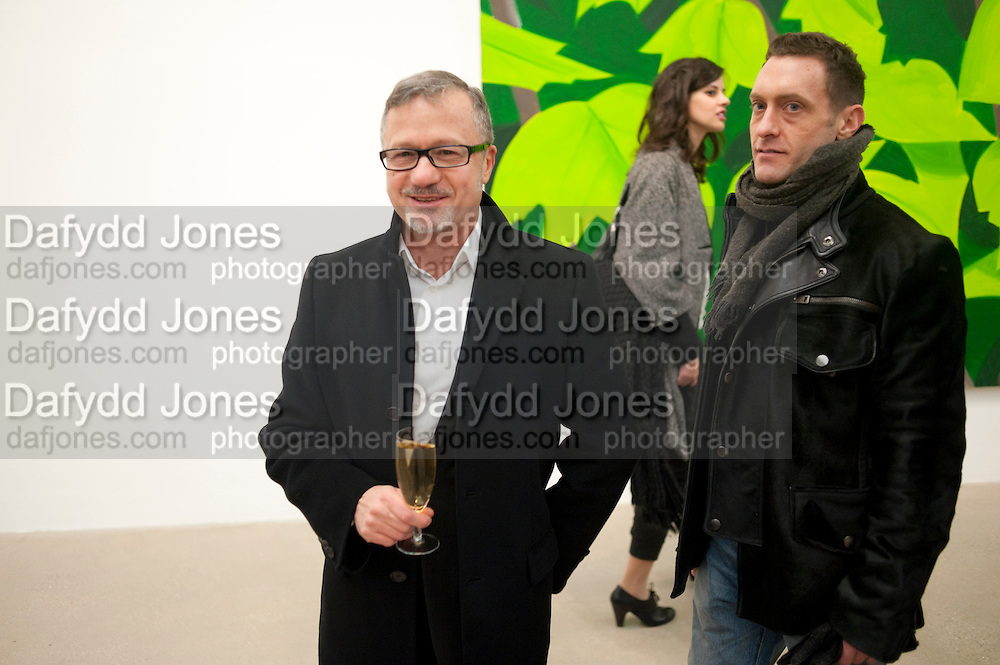 Alex Katz opening. Timothy Taylor gallery. London. 3 March 2010.