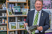 Alan Titchmarsh lauches Great Gardens of Cornwall on the Tregothnan stand - The Chelsea Flower Show organised by the Royal Horticultural Society with M&G as its main sponsor for the final year.