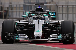 February 26, 2018 - Barcelona, Catalonia, Spain - the Mercedes of Valtteri Bottas during the tests at the Barcelona-Catalunya Circuit, on 27th February 2018 in Barcelona, Spain. (Credit Image: © Joan Valls/NurPhoto via ZUMA Press)