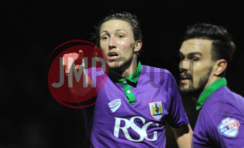 Bristol City's Luke Ayling - Photo mandatory by-line: Harry Trump/JMP - Mobile: 07966 386802 - 10/03/15 - SPORT - Football - Sky Bet League One - Yeovil Town v Bristol City - Huish Park, Yeovil, England.