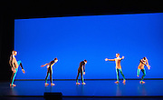 The Michael Clark Company perform the third part of Triple Bill.