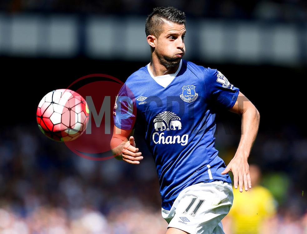 Everton's Kevin Mirallas in action - Mandatory byline: Matt McNulty/JMP - 07966386802 - 08/08/2015 - FOOTBALL - Goodison Park -Liverpool,England - Everton v Watford - Barclays Premier League