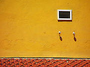 Window in Yellow Building, Bonaire