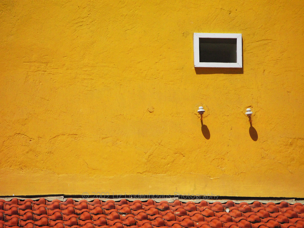Window in Yellow Building, Bonaire