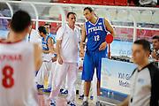 DESCRIZIONE : Teramo Giochi del Mediterraneo 2009 Mediterranean Games Italia Turchia Italy Turkey Preliminary Men<br /> GIOCATORE : Carlo Recalcati Tommaso Rinaldi<br /> SQUADRA : Nazionale Italiana Maschile<br /> EVENTO : Teramo Giochi del Mediterraneo 2009<br /> GARA : Italia Turchia Italy Turkey<br /> DATA : 30/06/2009<br /> CATEGORIA : coach<br /> SPORT : Pallacanestro<br /> AUTORE : Agenzia Ciamillo-Castoria/G.Ciamillo