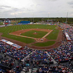March 6, 2011; Port St. Lucie, FL, USA; A general view during a spring training exhibition game between the Boston Red Sox and the New York Mets at Digital Domain Park. The Mets defeated the Red Sox 6-5. Mandatory Credit: Derick E. Hingle-US PRESSWIRE
