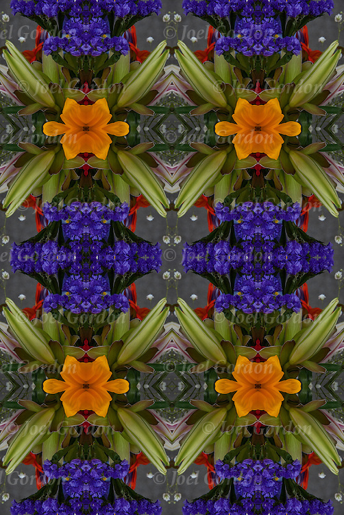 Photographic series of digital  flora computer art.<br />