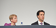 Labour Annual Conference<br /> at the Echo Arena & BT Convention Centre, Liverpool, Great Britain <br /> 25th to 28th September 2011 <br /> <br /> <br /> Yvette Cooper <br /> <br /> Rt Hon Ed Miliband MP <br /> Leader of the Labour Party <br /> Member of Parliament<br /> for Doncaster North<br /> <br /> Photograph by Elliott Franks