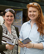 Sile Mannion Claregalway and Dara O'Donnell Kinnegad at the launch of The Galway Theatre Festival and the NUI Galway's O'Donoghue Centre for Drama, Theatre and Performance  . Photo:Andrew Downes, xposure