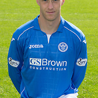 St Johnstone FC 2014-2015 Season Photocall..15.08.14<br /> Steven Anderson<br /> Picture by Graeme Hart.<br /> Copyright Perthshire Picture Agency<br /> Tel: 01738 623350  Mobile: 07990 594431