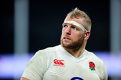 James Haskell of England looks on - Mandatory byline: Patrick Khachfe/JMP - 07966 386802 - 12/03/2016 - RUGBY UNION - Twickenham Stadium - London, England - England v Wales - RBS Six Nations.