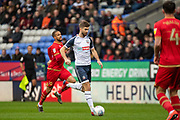 Luke Murphy of Bolton Wanderers during the EFL Sky Bet League 1 match between Bolton Wanderers and Milton Keynes Dons at the University of  Bolton Stadium, Bolton, England on 16 November 2019.