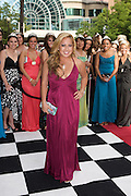 Sabrina Bryan of The Cheetah Girls seen at the 500 Festival Snakepit Ball on May 24, 2008. Photo by Michael Hickey