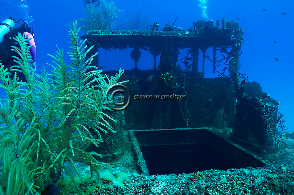 Upper Deck and Wheelhouse, Doc Paulson, Grand Cayman