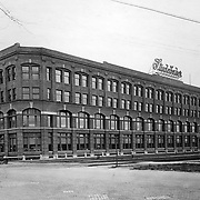 The north face of the Studebaker Corporation's Administration Building, South Bend, Indiana c. 1915. Designed by Solon Beman.