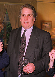 MR JAMES GUTHRIE QC at a party in London on 7th May 1998.MHK 9 MICO