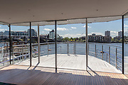 Houseboat Encantada, Chelsea, London by James Wyman Architects