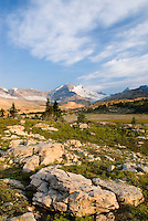 Mount des Poilus from the Waterfall Valley, Yoho National Park British Columbia Canada