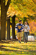 Fall at St Norbert College in De Pere, Wisconsin. photo by Mike Roemer