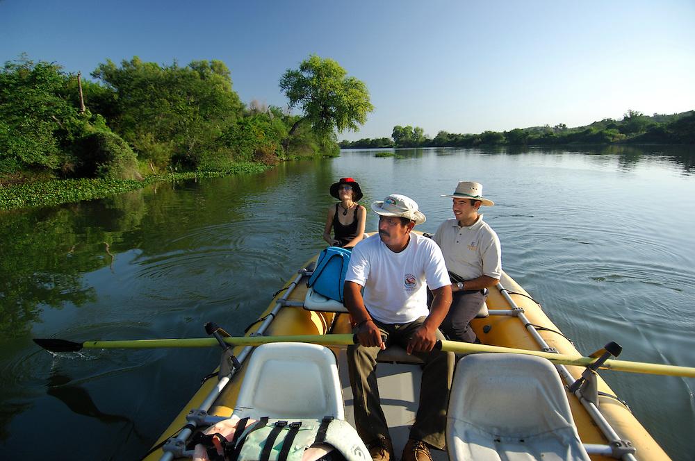 River Cruise, El Fuerte River, El Fuerte, Sinaloa, Mexico.