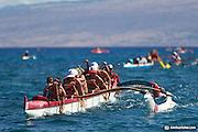 Waikoloa Canoe Race, Hawaii 110827