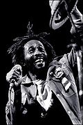 Reggae Star Burning Spear Live in London 1980