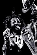 Reggae Star Burning Spear Live in London 1980