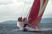 CAMPER with Emirates Team New Zealand. In Port Race Galway Ireland. Volvo Ocean Race 2011-2012. 7/7/2012