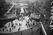 11/04/1966<br /> 04/11/1966<br /> 11 April 1966<br /> 1916 Jubilee Commemorations- Opening and Blessing Ceremony at the Garden of Remembrance, Parnell Square, Dublin. Image shows a view of the Garden and the ceremony. On right are the official cars.