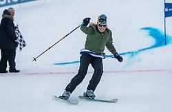 20.01.2018, Hahnenkamm, Kitzbühel, AUT, FIS Weltcup Ski Alpin, Kitzbuehel, Kitz Charity Trophy, im Bild Nina Proll // Nina Proll during the Kitz Charity Trophy of the FIS Ski Alpine World Cup at the Hahnenkamm in Kitzbühel, Austria on 2018/01/20. EXPA Pictures © 2018, PhotoCredit: EXPA/ Stefan Adelsberger
