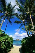 Lanikai Beach, Kailua, Oahu, Hawaii, USA<br />