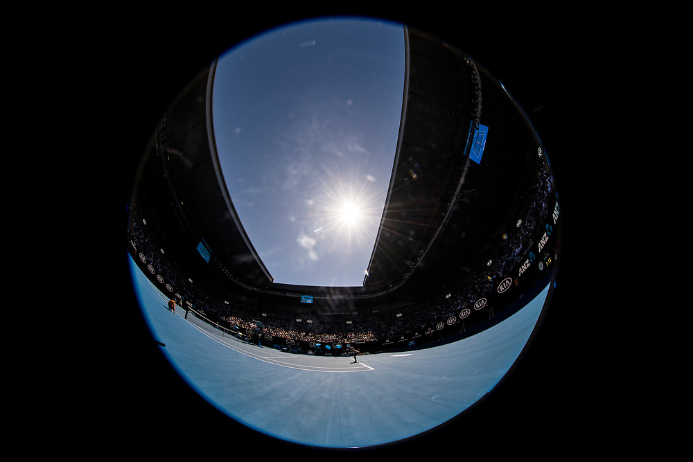 A general view of Rod Laver Arena on day three of the 2018 Australian Open in Melbourne Australia on Wednesday January 17, 2018..<br /> (Ben Solomon/Tennis Australia)