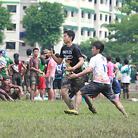 Admiralty Link, Sunday, June 5, 2016 &mdash; Pioneer Junior College (PJC) defeated Raffles Institution (RI) 13-9 to win the 12th Inter-JC Ultimate Championship.<br />
