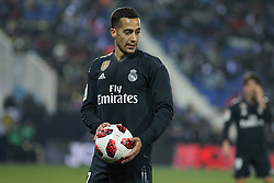 January 16, 2019 - Leganes, Madrid, Spain - Lucas Vazquez of Real Madrid in action during the King Spanish championship, , football match between Leganes and Real Madrid on January 16th at Butarque Stadium in Leganes, Madrid, Spain. (Credit Image: © AFP7 via ZUMA Wire)
