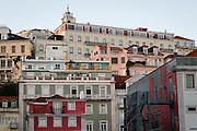 Skyline in Lisbon's Chiado neighborhood.