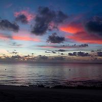 After Sunset on a Fiji Beach