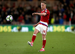 Adam Forshaw of Middlesbrough - Mandatory by-line: Robbie Stephenson/JMP - 26/04/2017 - FOOTBALL - Riverside Stadium - Middlesbrough, England - Middlesbrough v Sunderland - Premier League