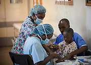 Timothy Kibet story. Timothy 9 and dad Symon, mother Mirium from Kabarnet near Kabutie in the Northern Rift Valley region of Kenya.<br /> his doctor at Sabatia Eye Hospital Dr Ernest Ollando Paediatric Eye Surgeon.