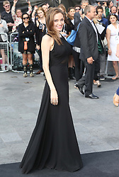 Angelina Jolie arriving for the  World War Z premiere in London, Sunday, 2nd June 2013<br /> Picture by Stephen Lock  / i-Images