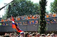 AMSTERDAM - COPYRIGHT ROBIN UTRECHT<br /> 23-08-2016 ALGEMEEN: HULDIGING THUISKOMST TEAMNL: AMSTERDAM RAI