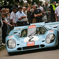 1970 Porsche 917K Gulf, Goodwood Festival of Speed 2007