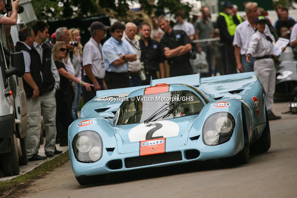 1970 Porsche 917K Gulf, Goodwood Festival of Speed 2007