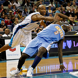 01-06-2012 Denver Nuggets at New Orleans Hornets