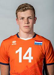 08-06-2018 NED: Photoshoot selection of Orange Young Boys, Arnhem <br /> Orange Young Boys 2018 - 2019 / Martijn Brilhuis #14 of Netherlands