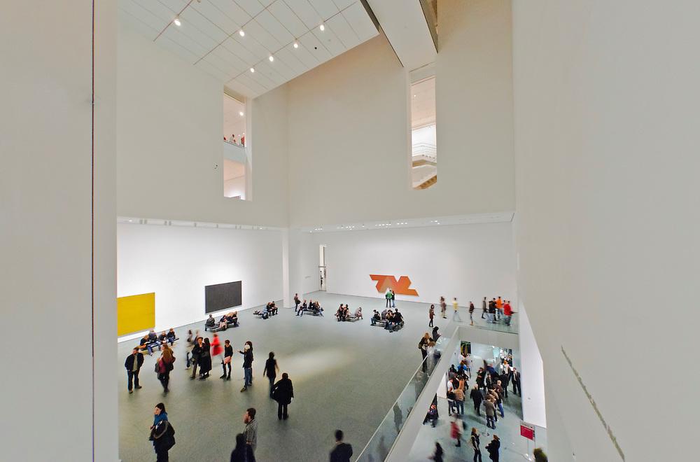 Museum of Modern Art, addition Designed by Yoshio Taniguchi, New York City, New York