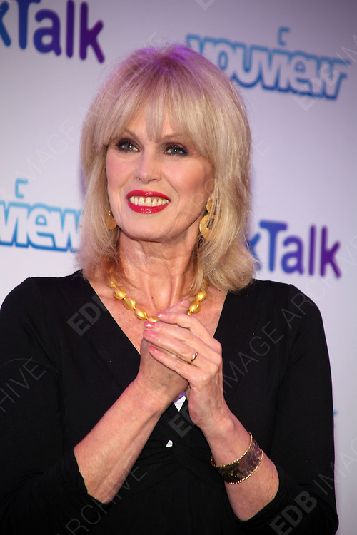 27.SEPTEMBER.2012. LONDON<br /> <br /> JOANNA LUMLEY AT THE LAUNCH OF YOU VIEW TV SERVICE<br /> <br /> BYLINE: EDBIMAGEARCHIVE.CO.UK<br /> <br /> *THIS IMAGE IS STRICTLY FOR UK NEWSPAPERS AND MAGAZINES ONLY*<br /> *FOR WORLD WIDE SALES AND WEB USE PLEASE CONTACT EDBIMAGEARCHIVE - 0208 954 5968*