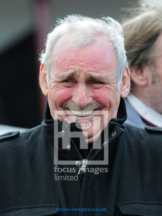 Trainer Les Eyre at Pontefract Racecourse, Pontefract<br /> Picture by Alan Wright/Focus Images Ltd 07733 196489<br /> 08/04/2014