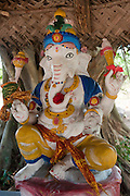 New Ganesh shrine on road to coast just North of the main Sangamankanda shrine. This road leads down to a lighthouse. The most Eastern part of the island.