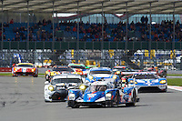 David Cheng (CHN) / Ho-Pin Tung (CHN) / Nelson Panciatici (FRA) #35 Baxi DC Racing Alpine Alpine A460 Nissan, during opening laps of the race as part of the WEC 6 Hours of Silverstone 2016 at Silverstone, Towcester, Northamptonshire, United Kingdom. April 17 2016. World Copyright Peter Taylor.